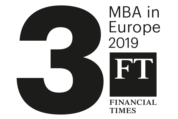 #3 MBA in Europe, FT 2019
